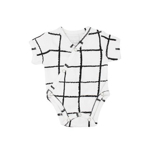 S/Sleeve Kimono Bodysuit【全2種類】