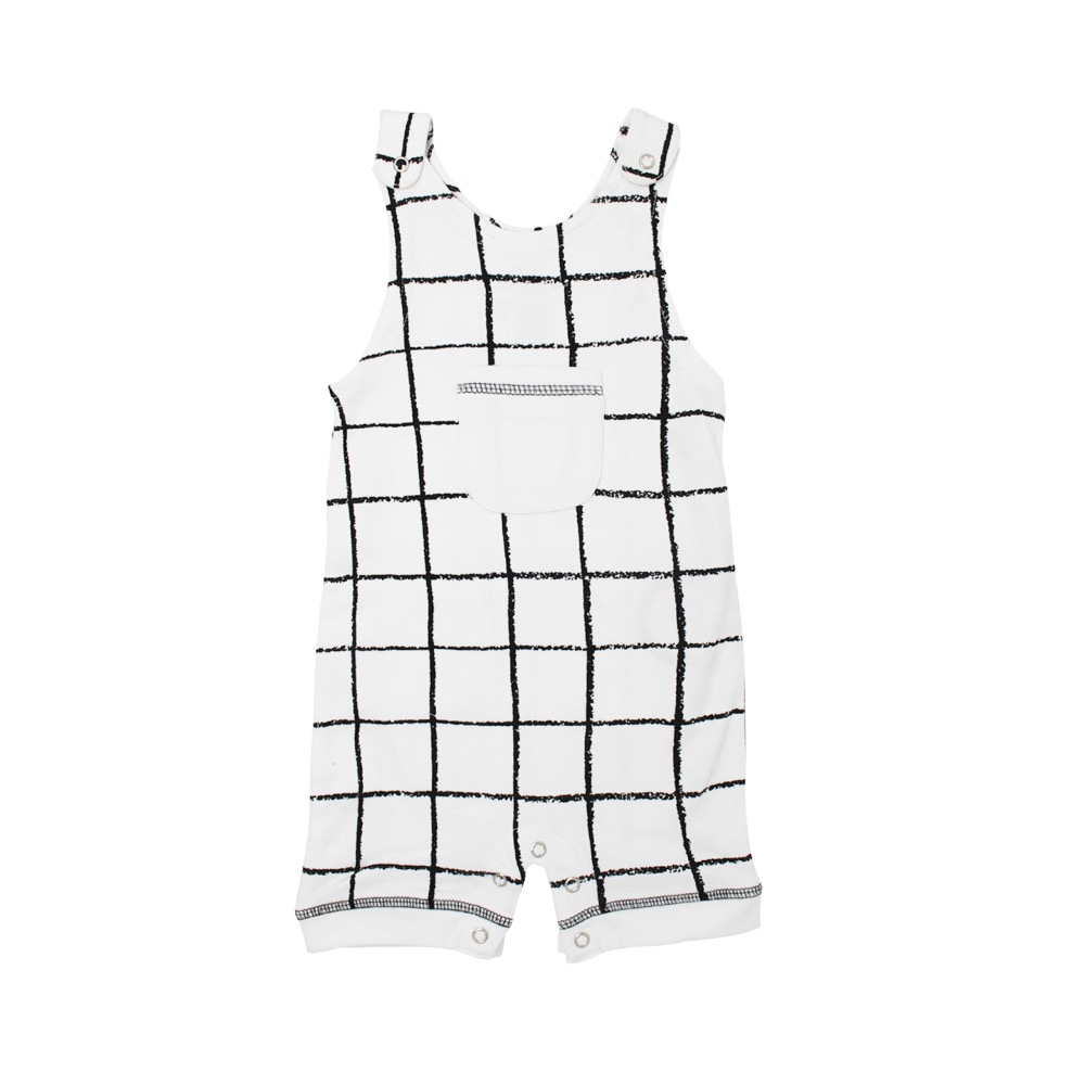 Sleeveless Romper【全3色】