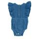 Muslin Ruffle Bodysuit【全4色】