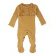 Smocked Footed Overall【全3色】