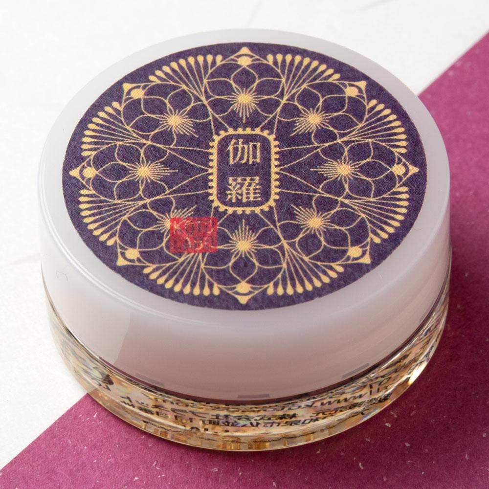 コトラボ 金箔入り透明練り香水 伽羅の香り4g ソリッドパフューム Kotolabo solid perfume, Aloeswood