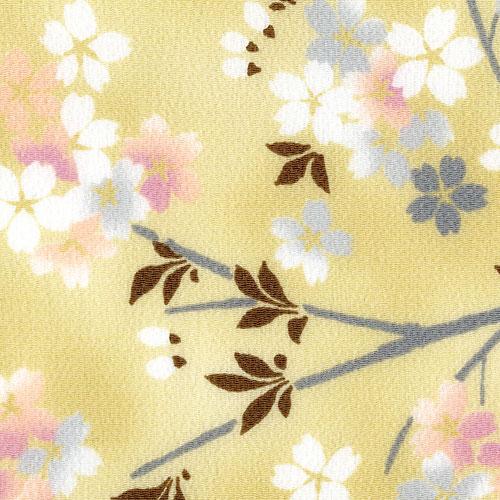 宇野千代 桜が大好き 風呂敷二巾 花見桜 ベージュ