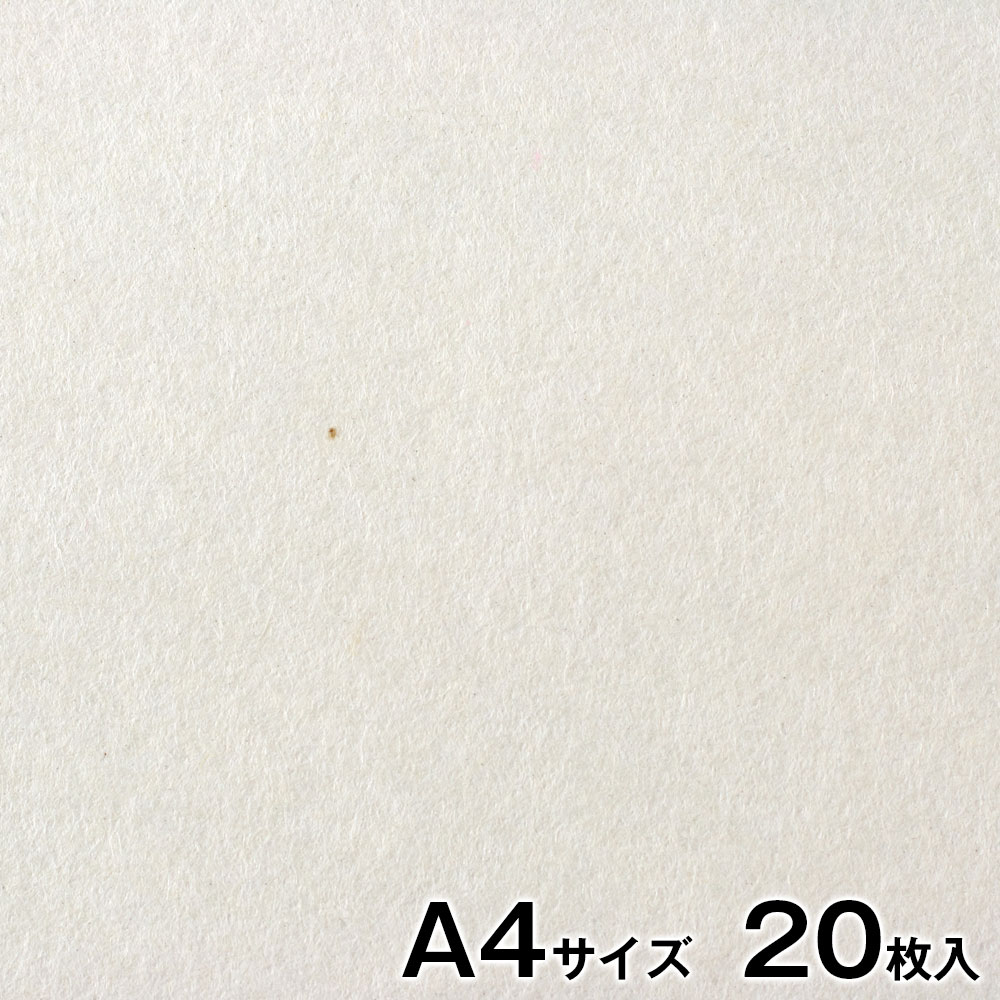 プリンター和紙 大直 楮入無地 白 A4サイズ20枚入 インクジェット・レーザー対応