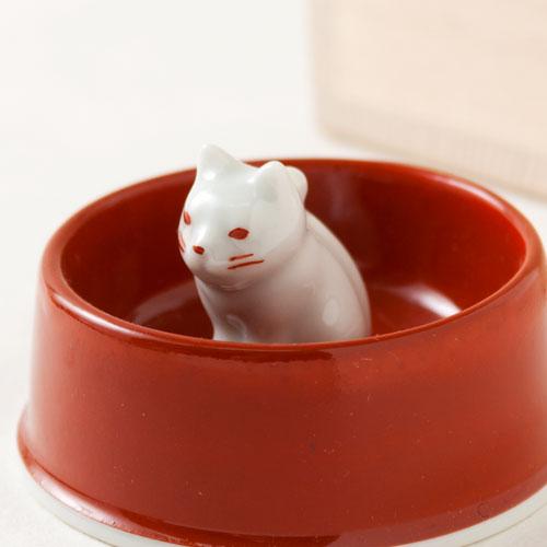 ここかしこ にゃん碗 おともだち 亡き愛猫のための小さな仏器 Small Buddha device for cats