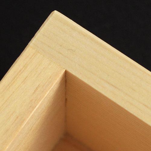 ますや 二合枡 岐阜県大垣市の檜製計量器・酒器
