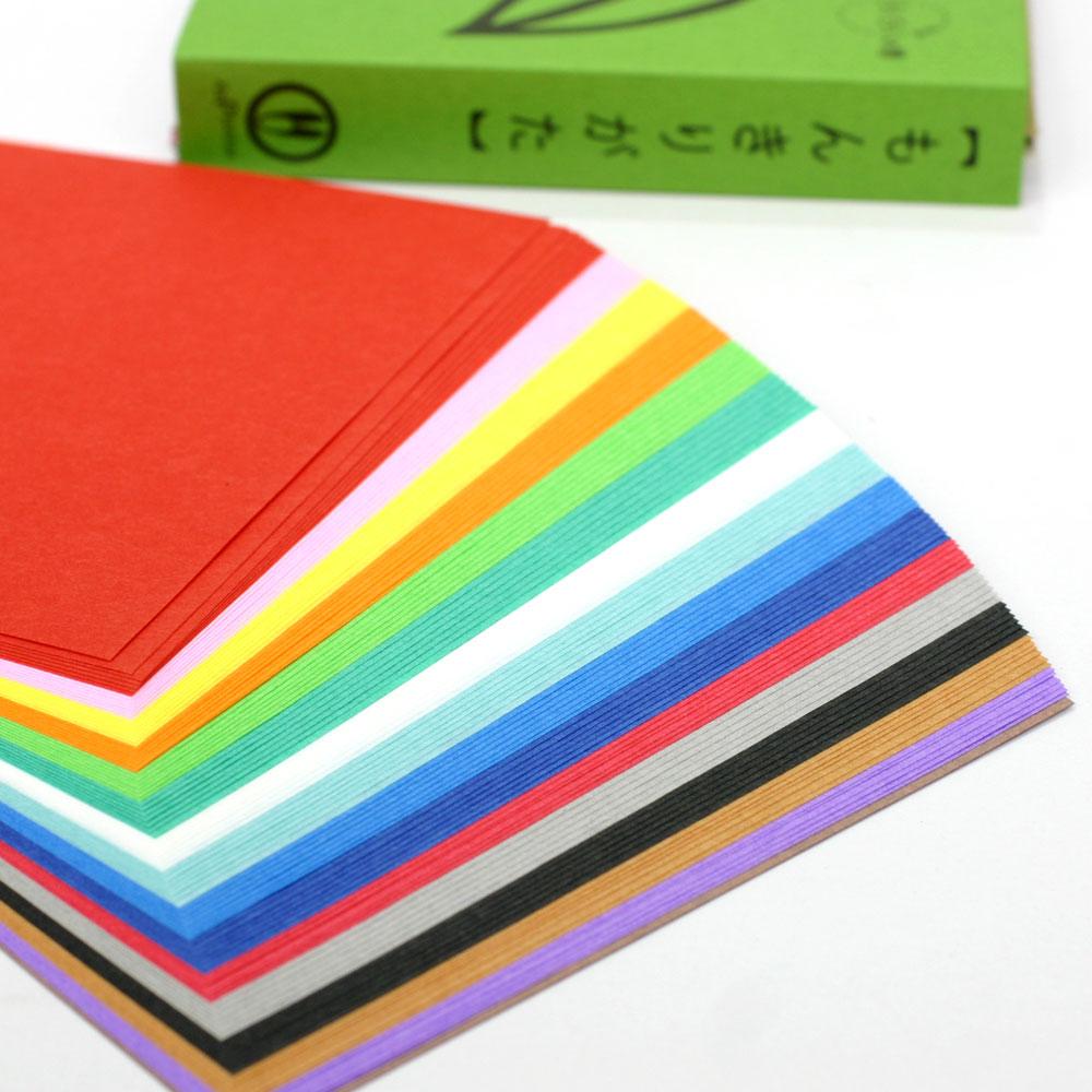切って楽しい♪いろいろ使える♪ 紋切り型 らくらくの巻 色紙100枚付き