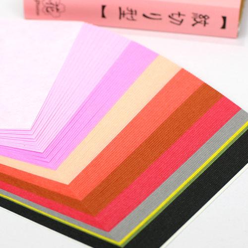 花といえば桜。春爛漫 紋切り型 花之巻 色紙100枚付き