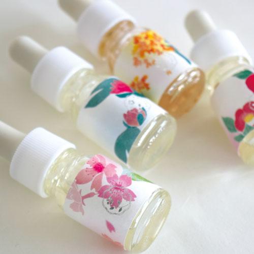wanoka香油 金木犀《果実のような甘い香り》 和の香りのアロマオイル スポイト付き ART LAB Japanese scented aroma oil