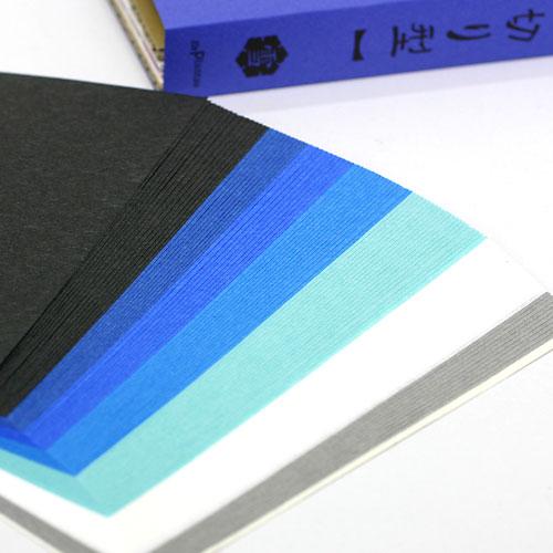 美しい江戸の雪花文様 紋切り型 雪之巻 色紙100枚付き