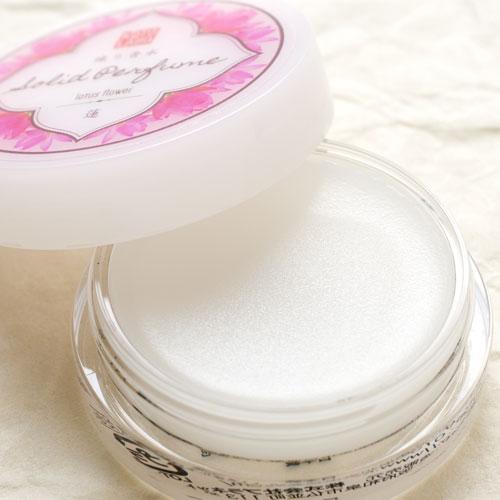 コトラボ 練り香水 夏:蓮8g 上品で優しい蓮の香り ソリッドパフューム Kotolabo solid perfume, Lotus