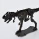 DINOSAUR恐竜骨格工作キット ティラノサウルス・ブラック ダンボールでつくる恐竜骨格 のりもはさみも使わずに組み立てられるペーパークラフト Cardboard craft kit, Dinosaur