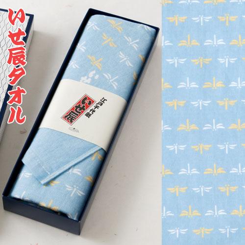 いせ辰タオル 勝虫 和柄フェイスタオル Isetatsu face towel