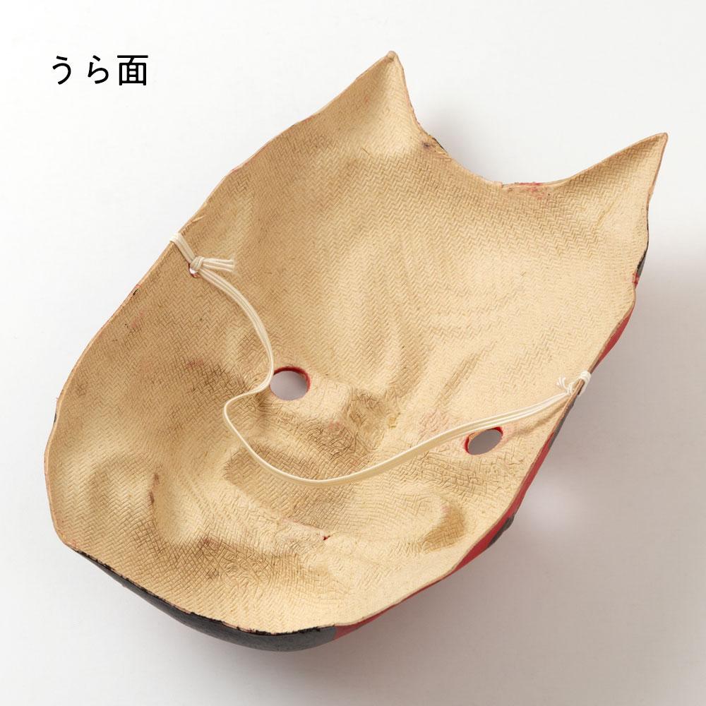 節分セット ヒノキ枡と鬼の面 一升枡 福豆用の枡と大人用鬼の面 Wooden measuring box and Japanese paper ogre mask
