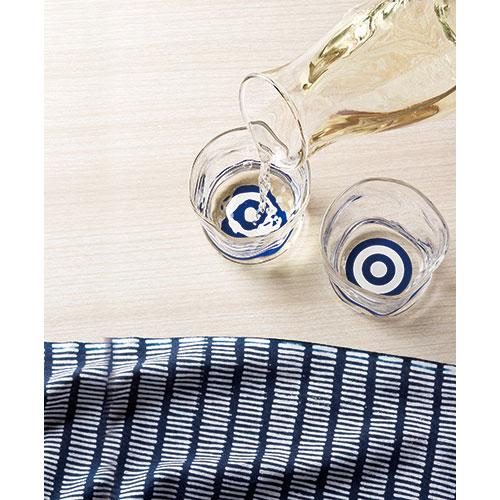 利き猪口 馴染みグラス 酒器 日本酒を美味しく飲むためのガラス盃 ぐい呑み Cup of glass
