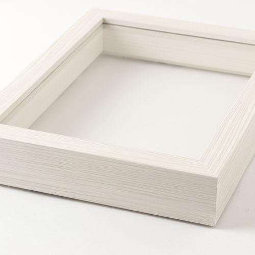 見開き御朱印帳額 小 白木目 御朱印帳を開いて飾れるインテリア額縁 岐阜県の工芸品 Picture frame for Goshuinchou, Gifu craft
