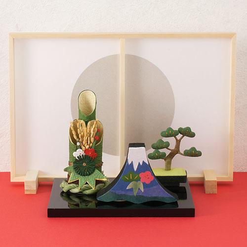 正月飾り めでたや 門松 和紙の置物 New Year decoration