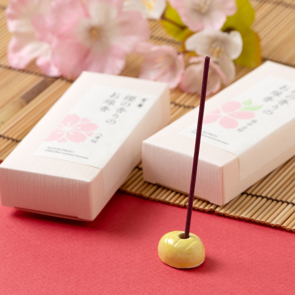葵乃舞 櫻の香りのお線香アソート 線香・インセンス Cherry aroma incense