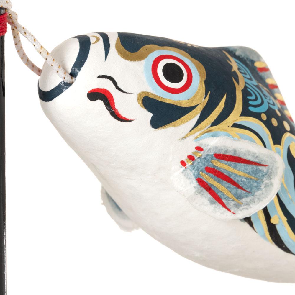 和紙皐月飾り こいのぼり 雅 張子の鯉のぼり置物 端午の節句・こどもの日 Boys' festival decorations made of Japanese paper