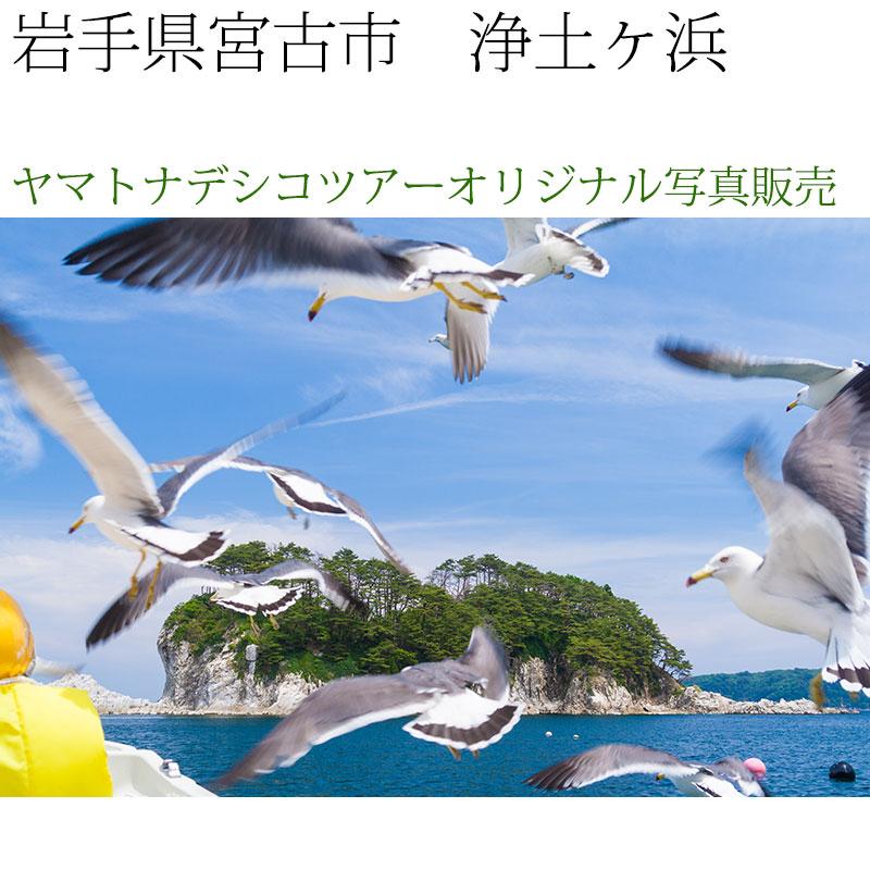 日本紀行 岩手県 浄土ヶ浜 (nk03-7121) 当店オリジナル写真販売 Photo frame, Joudogahama