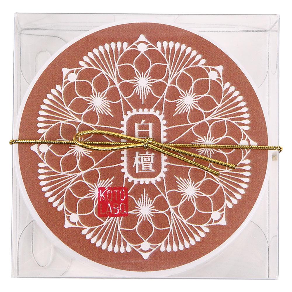 コトラボ 煌めく透明練り香水 白檀の香り14g お得な大容量タイプ ソリッドパフューム Kotolabo solid perfume, Sandalwood