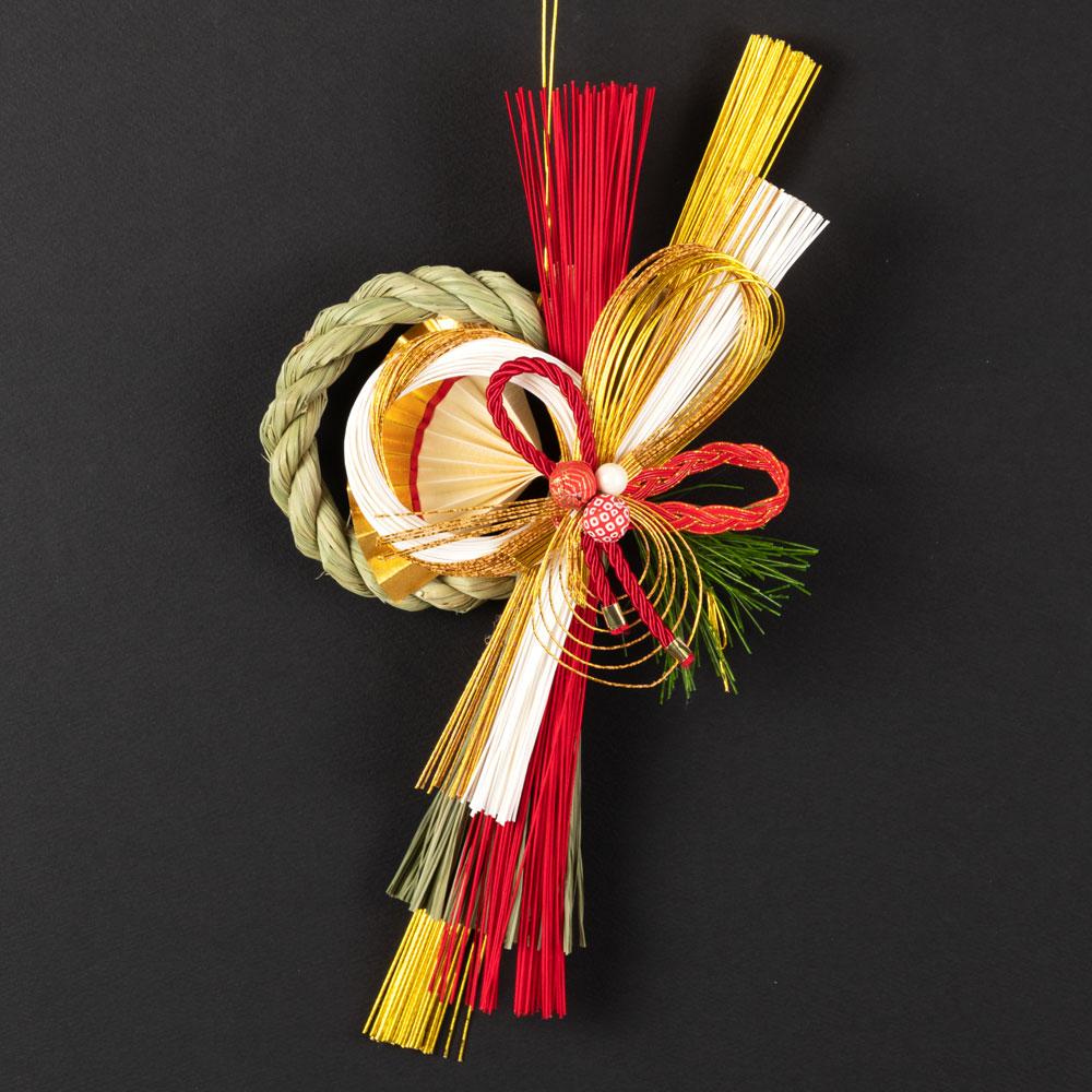 正月飾り 注連飾り 竹治郎 雪月風花 喜柊(きしゅう) 新潟県南魚沼の正月飾り 2800サイズ Japanese New Year decoration made of straw