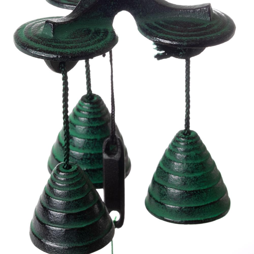 南部鉄風鈴 三重奏 南部鉄器 岩手県の工芸品 Wind bell, Iwate craft