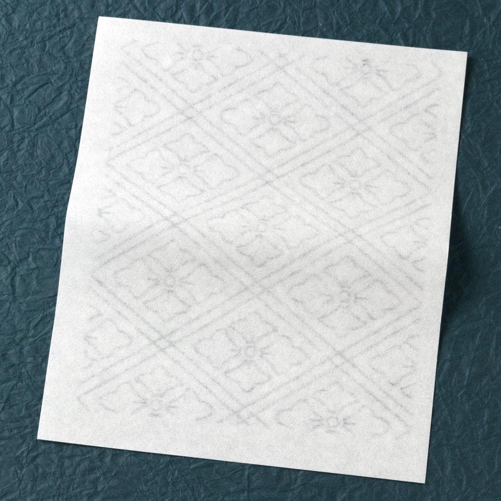 辻徳 漉入れ懐紙 花菱 20枚入り 美濃和紙 Sukiire kaishi, Japanese paper