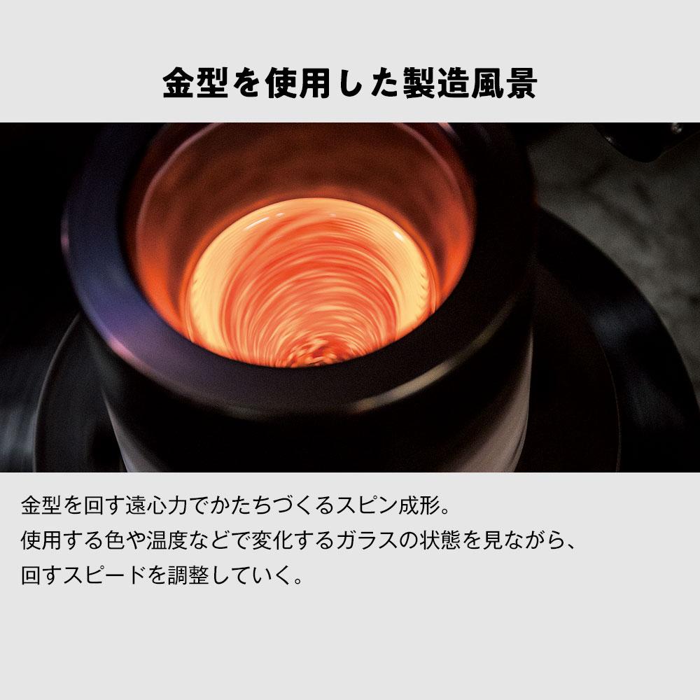津軽びいどろ酒器セット 桜吹雪 徳利と盃のセット ガラス酒器 青森県の工芸品 Sake bottle & cups, Aomori craft