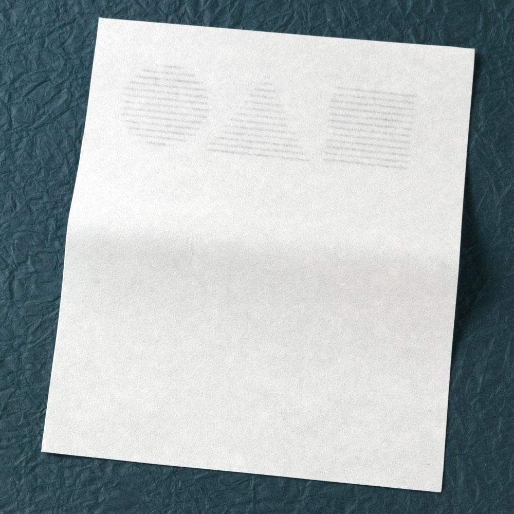 辻徳 漉入れ懐紙 禅 20枚入り 美濃和紙 Sukiire kaishi, Japanese paper