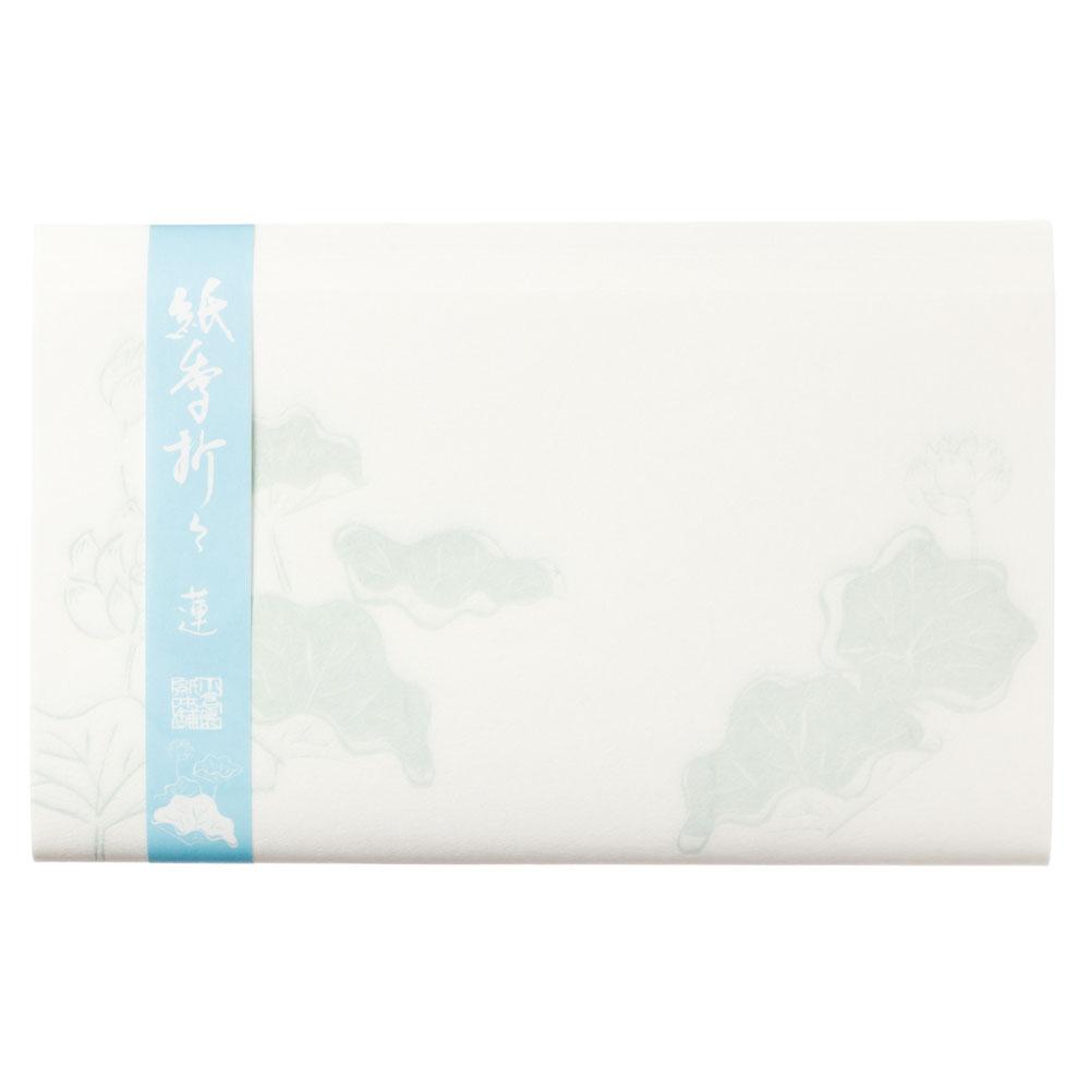 紙季折々の懐紙 蓮 30枚入 Kaishi