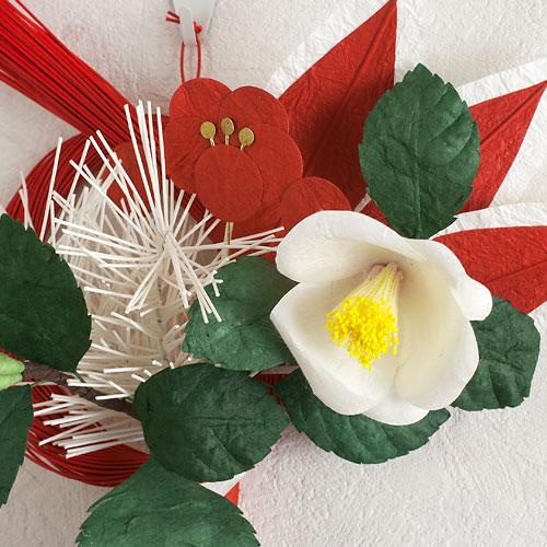 正月飾り 椿飾り 小 めでたや New Year's decoration
