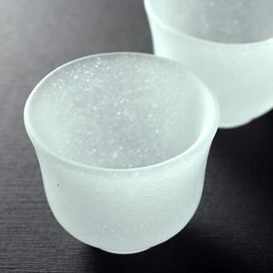 吹雪 酒器セット 雪をイメージした涼感漂う徳利ぐい呑みセット