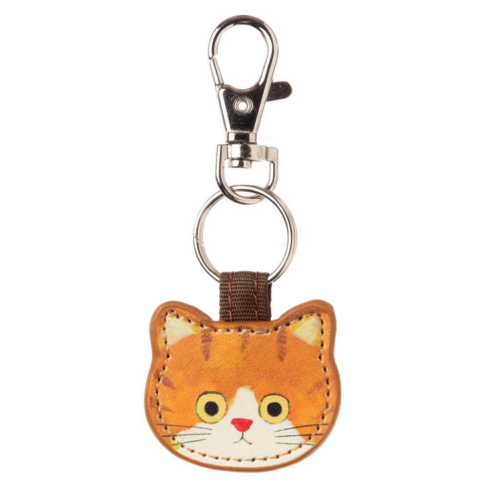 猫のキーチャーム ちゃしろ ECOUTE! minette キーホルダー まあるいおめめのキュートな猫たち