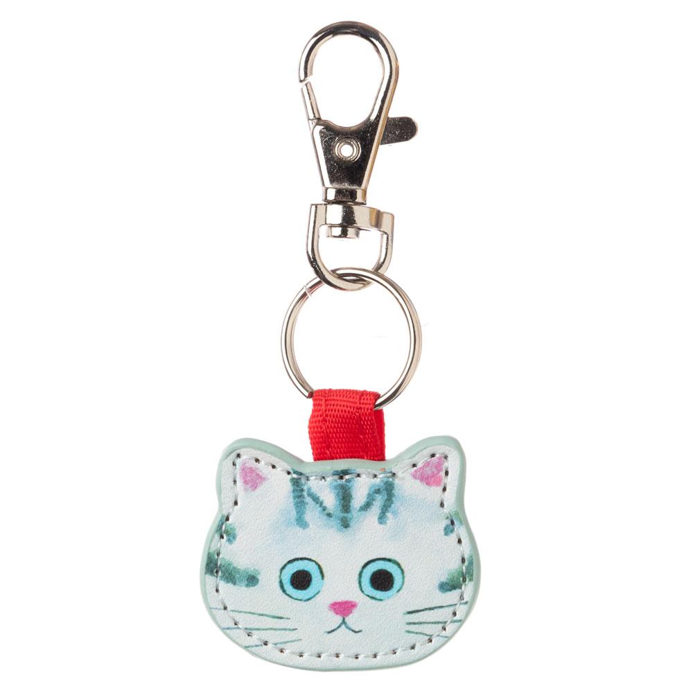 猫のキーチャーム アメショー ECOUTE! minette キーホルダー まあるいおめめのキュートな猫たち
