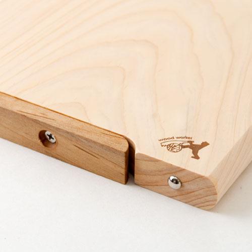 """土佐龍 四万十ひのき極め""""一枚板""""まな板 28×18cmサイズ 高知県の工芸品 Cutting board of Shimanto cypress single plate, Kochi craft"""