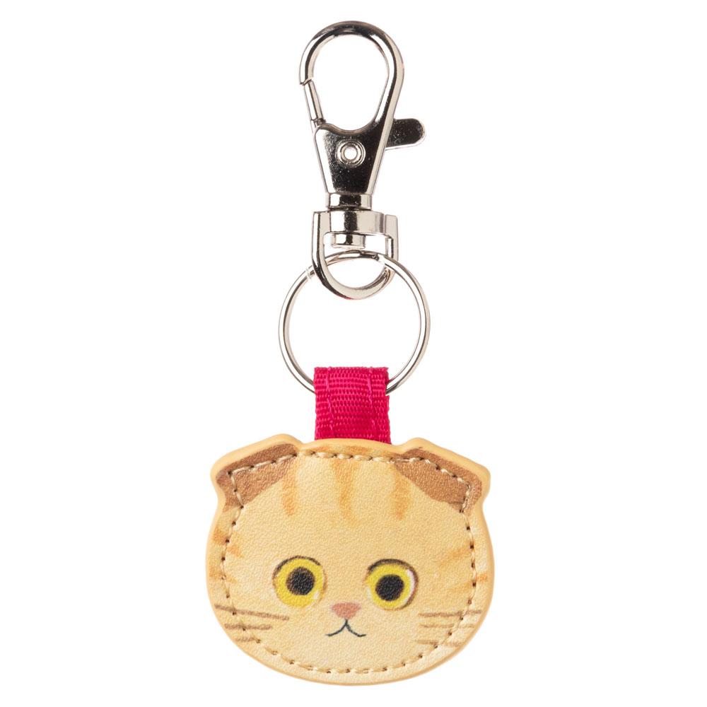 猫のキーチャーム スコティッシュちゃとら ECOUTE! minette キーホルダー まあるいおめめのキュートな猫たち