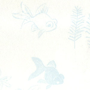 紙季折々の懐紙 金魚 水色 30枚入 Kaishi