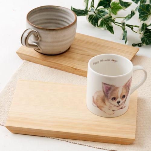 土佐龍 モーニングトレイ栗S 高知県の工芸品 Chestnut Morning tray, Kochi craft