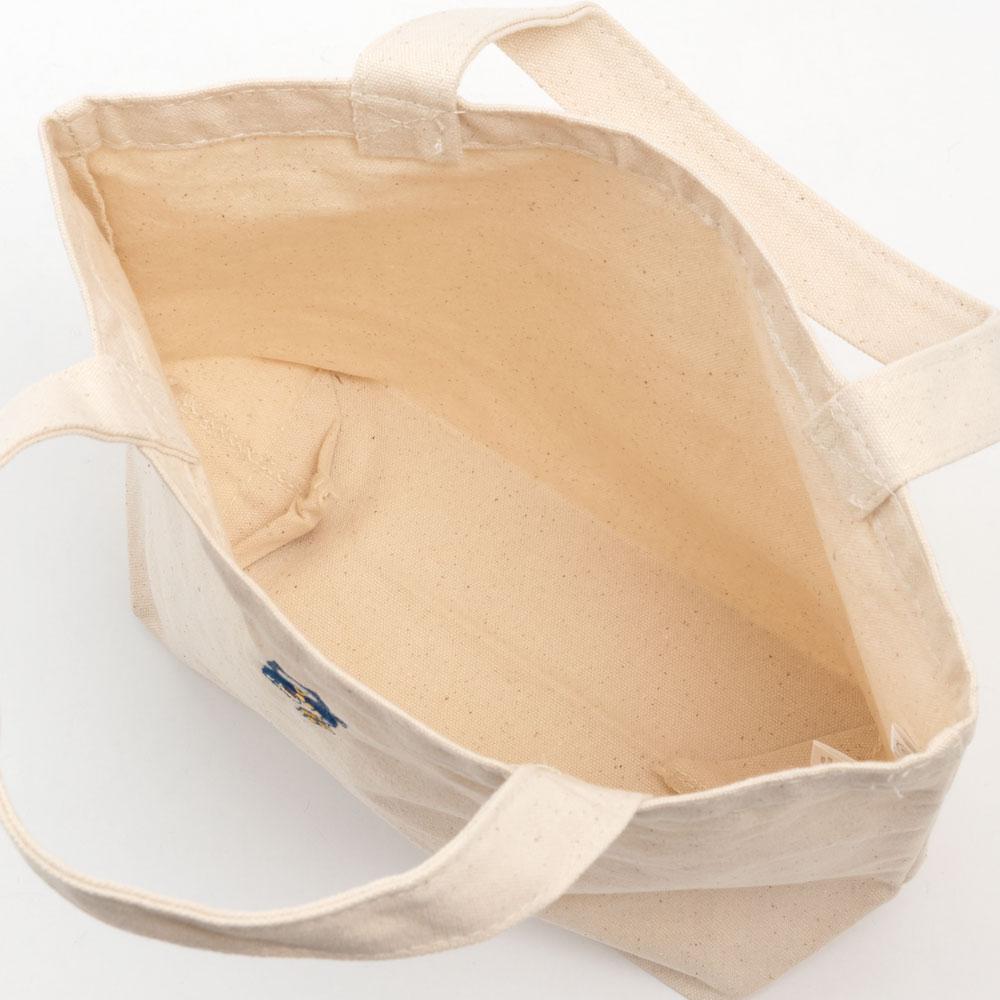 NYANJA ランチトート キナリ ずっとこっちみてる猫の忍者 スーベニール Tote bag