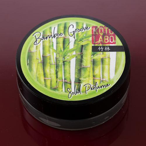 コトラボ 練り香水 京都謹製 竹林の香り8g ソリッドパフューム Kotolabo solid perfume, Bamboo groove ※在庫限り