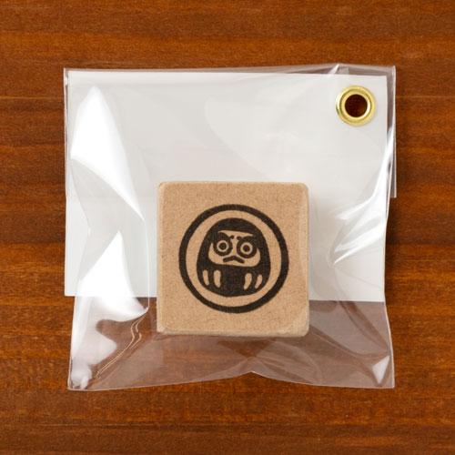 めでたいシリーズはんこ だるま 消しゴムはんこ ただのやまもと Auspicious pattern hanko stamp