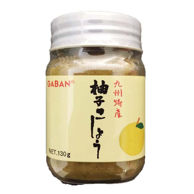 柚子コショー 九州特産 GABAN ギャバン 130g