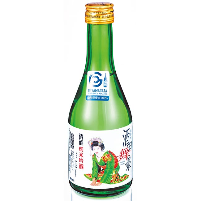 オードヴィ庄内 清泉川 酒田舞娘 純米吟醸 300ml