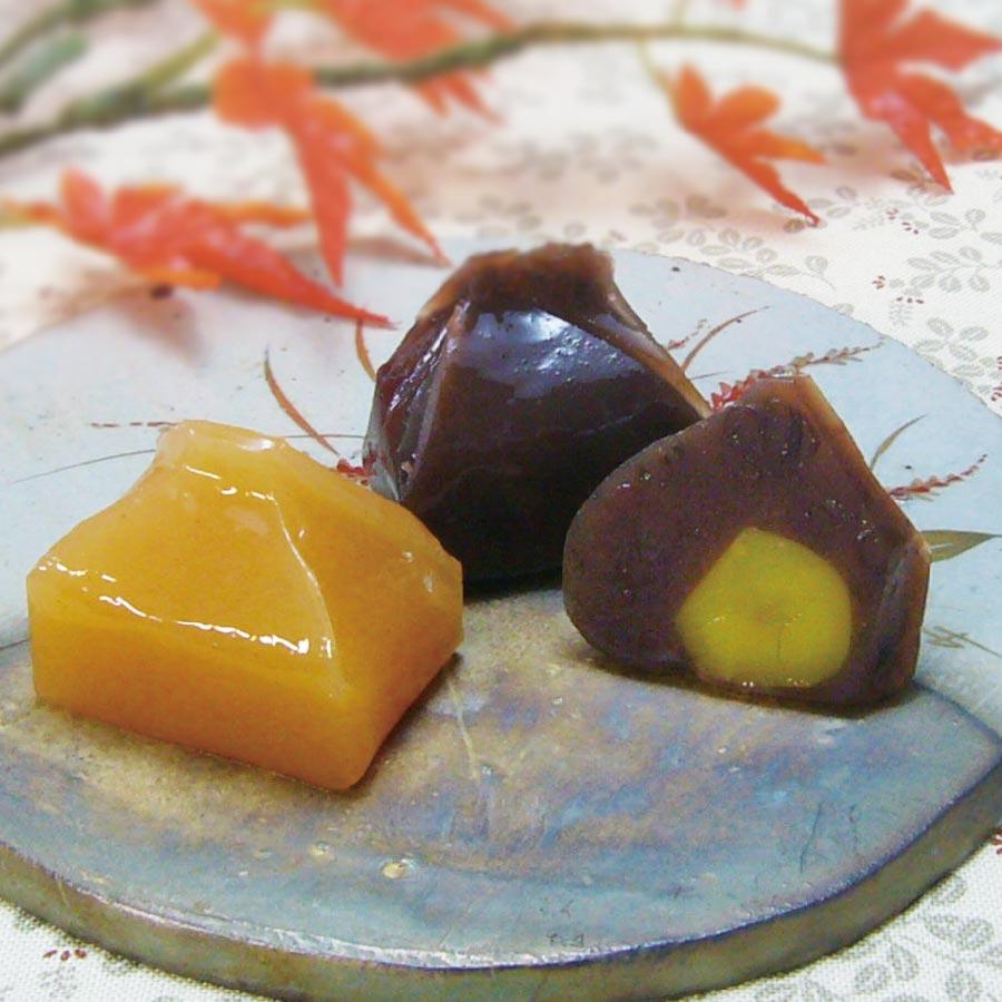 和菓彩羹(柿の菓・栗の菓)11個入