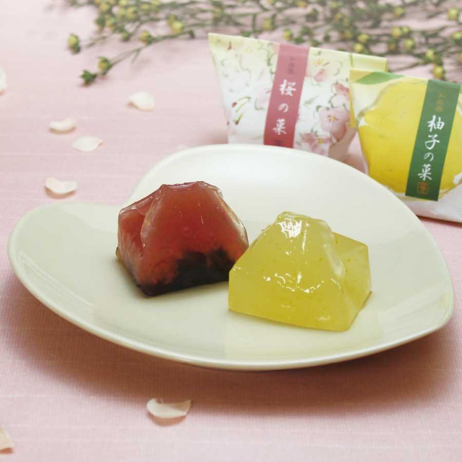 和菓彩羹(柚子の菓・桜の菓)14個入
