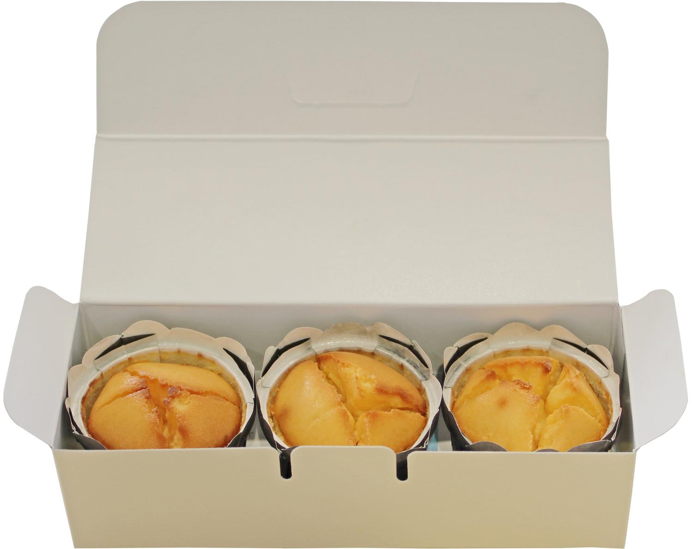 チーズケーキ醍醐の花(プレーン)3個入