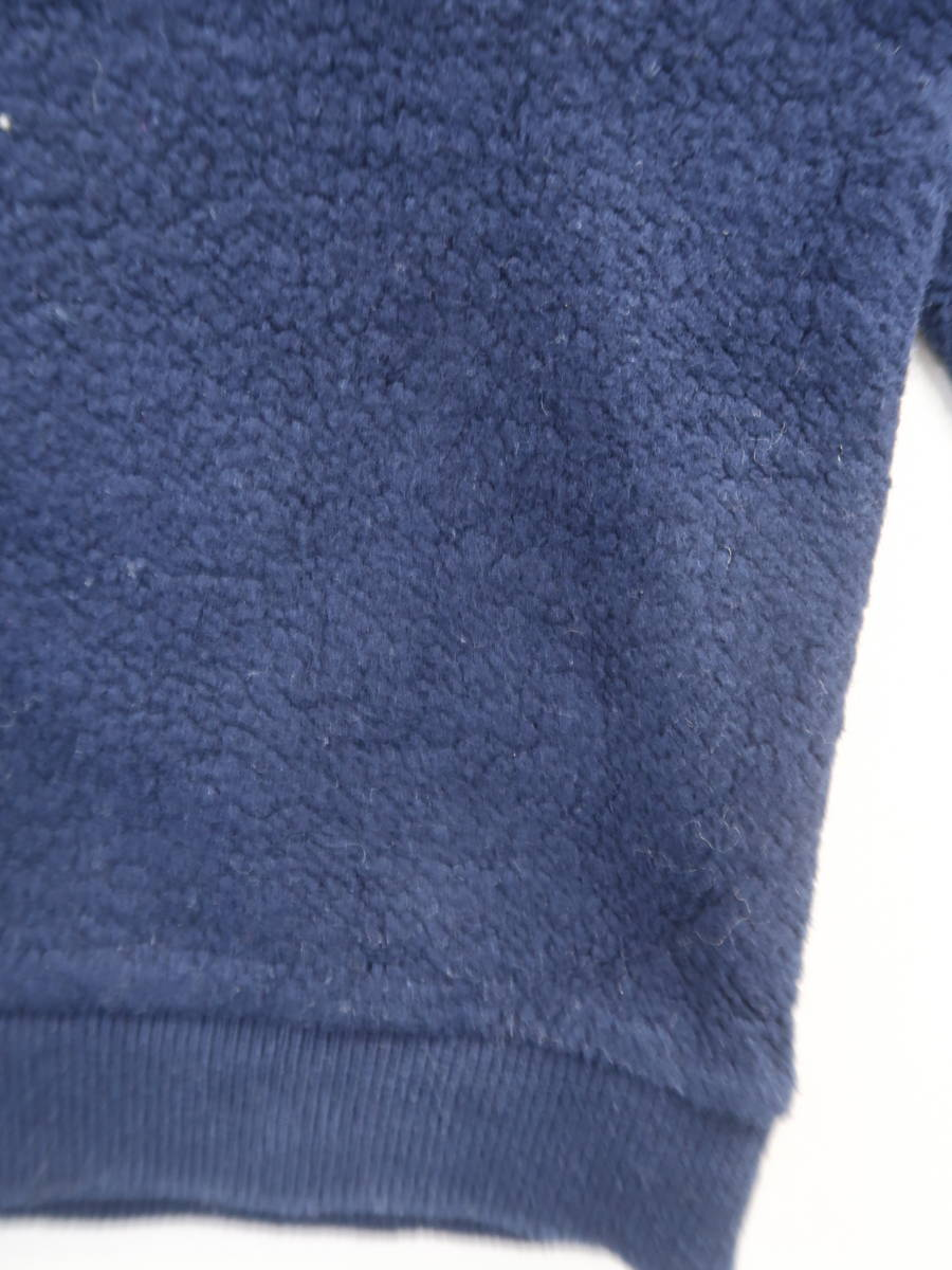 NAKID by G.V.G.V.(ネイキッドバイジーヴィージーヴィー)WET PRINTスウェットトップス 長袖 紺 レディース Aランク S