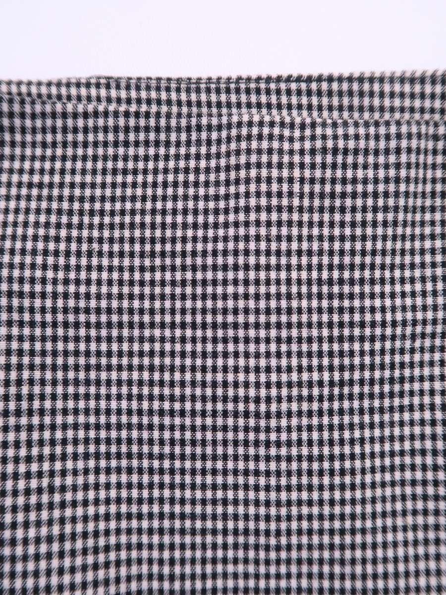 eimy istoire(エイミーイストワール)ギンガムマーメイドスカート 白 黒 レディース Aランク S [委託倉庫から出荷]