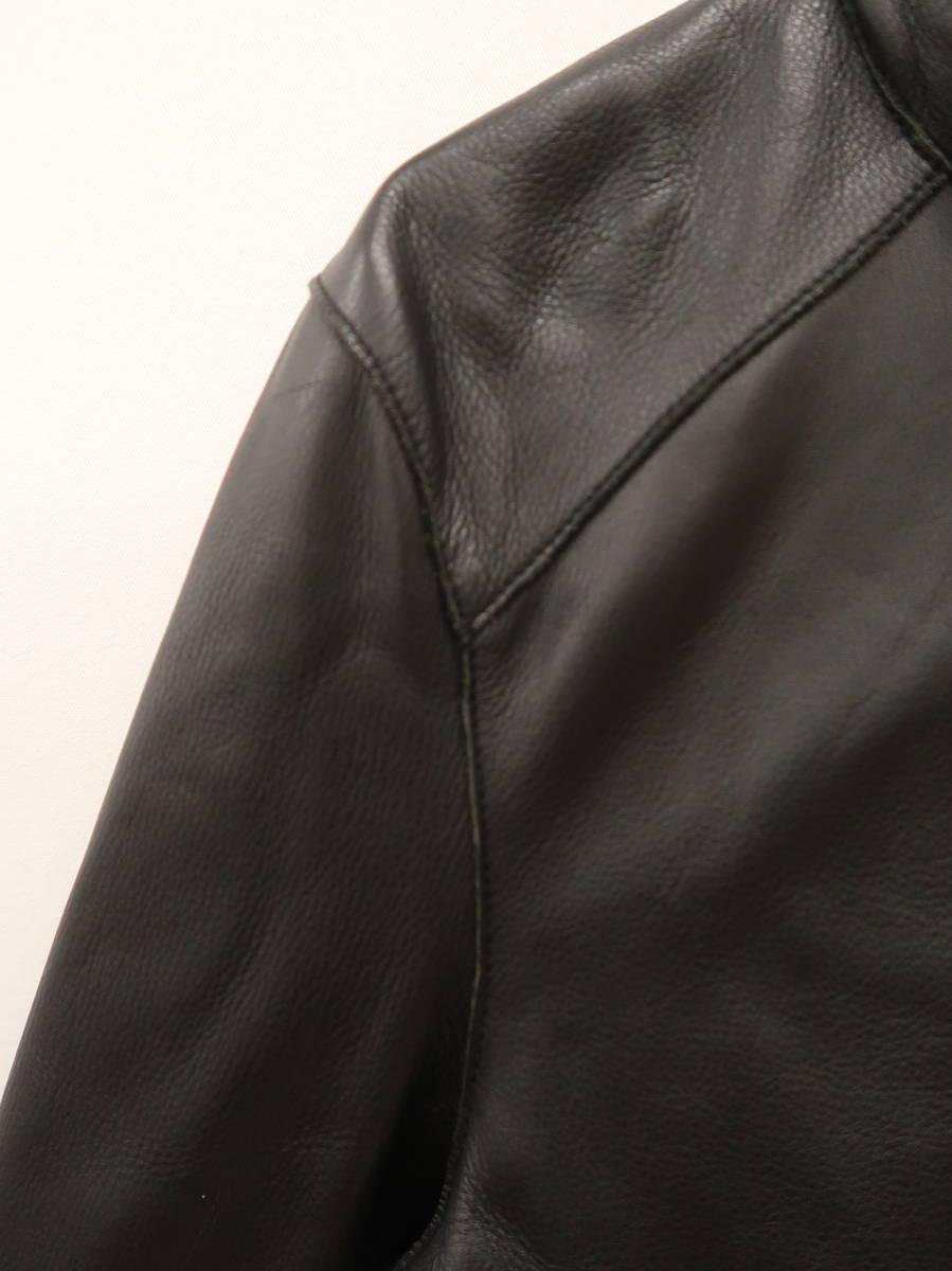 Mackage(マッカージュ)レザーブルゾン 長袖 黒 レディース Aランク 38 [委託倉庫から出荷]