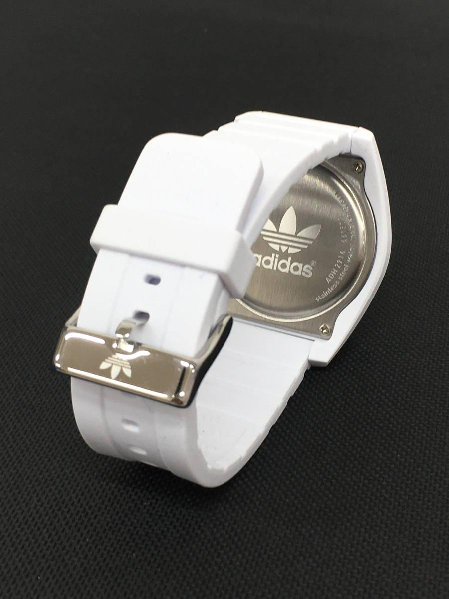 adidas(アディダス)サンティアゴクオーツレディース腕時計 白 レディース Aランク [委託倉庫から出荷]